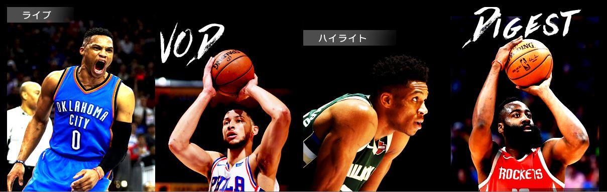 NBAリーグパス 視聴方法